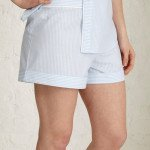 Blue/White Stripe Shorts